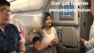 Video Kepanikan Penumpang Batik Air ID 7054 karena Mesin Pesawat Mati, Sempat Tak Boleh Turun