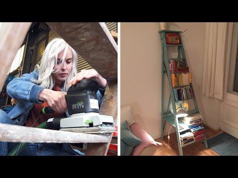 Vintage Leiterregal |  D I Y  | Jelena