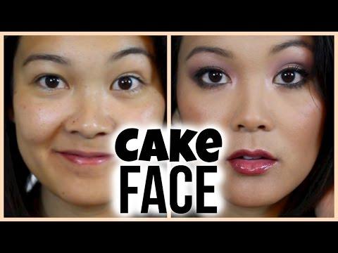 Cake Face Makeup Tutorial 🍰