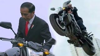 Ini Dia Sosok Pemeran Pengganti Jokowi saat Naik Moge sampai Bisa Terbang