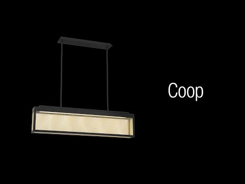 Video for Coop Black and Gold One-Light 3-Inch LED Outdoor Wall Sconce with 3000 Kelvin 910 Lumens