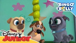 Bingo y Rolly: Momentos mágicos - ¡Vamos a arreglar el muñeco! | Disney Junior Oficial