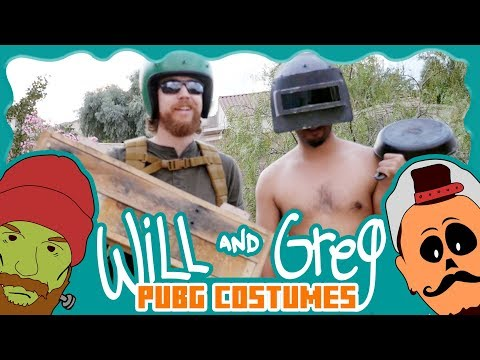 Will & Greg Make PUBG Costumes (Ep. 19)
