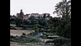 preview picture of video 'Santa Lucia de Ocón.  Exposición ARTE EN LA TIERRA, XI Edición . La Rioja. España'