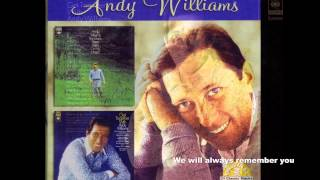 Andy Williams - Original Album Collection more today than yestday