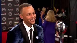 Stephen Curry Interview | 2016 ESPYs