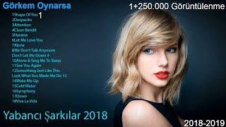 2018 Yabancı Hit 2018 Yabancı Pop 2018
