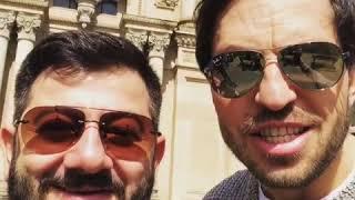 Александр Ревва и Михаил Галустян поздравляют с Пасхой
