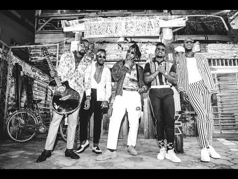 Sauti Sol - Afrikan Star ft Burna Boy (BTS)