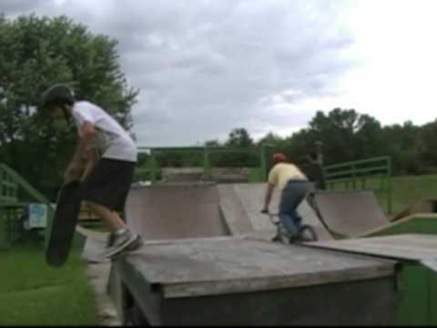 LRCA Ramps - Mike Hasselbrings skills video 2!!!!
