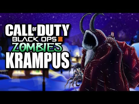 12 Days Of Zombie Christmas | Day 1 KRAMPUS (Black Ops 3 Zombies)