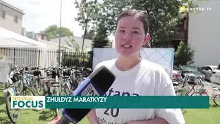 Велопробег в честь 20-летия Астаны прошел в Вашингтоне