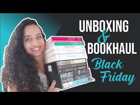 Unboxing & Bookhaul da Black Friday Submarino ? Parte 1 | Karina Nascimento | Paraíso dos Livros