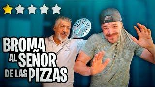 BROMA AL SEÑOR DE LAS PIZZAS (Pino Prestanizzi) LA PEOR PIZZERÍA DE EUROPA *SE ENFADA MUCHO*