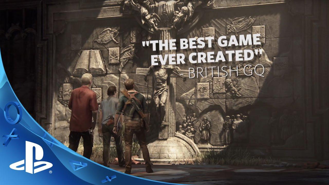 Uncharted 4: A Thief's End Chega Hoje Para PS4