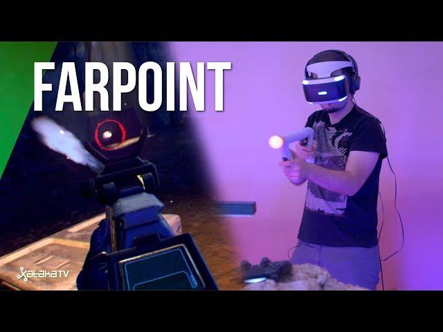 FarPoint con VR Aim Controller y VR, una experiencia a repetir