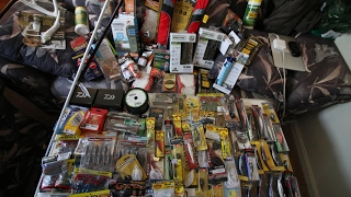 SO MUCH FISHING TACKLE - MASSIVE CABELAS SHOPPING SPREE
