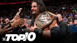 WWE Championship changes on Raw: WWE Top 10, Nov. 18, 2020