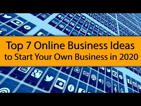 , title : 'Top 7 Online Business Ideas to Start your Own Business in 2020