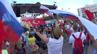 Так русские празднуют 9 мая в Турции / Кемер 2018