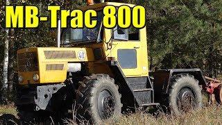 MB-TRAC 800, CIĄGNIK ROLNICZY MERCEDESA. BUDOWA I PIERWSZE WRAŻENIE PO ZAKUPIE.