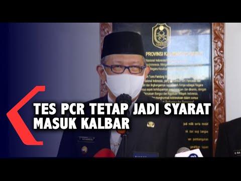 Gubernur Sutarmidji Pastikan Swab PCR Tetap Jadi Syarat Masuk ke Kalbar