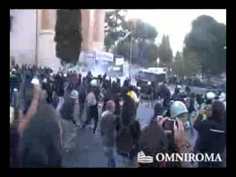 15 Ottobre, Roma – Scontri manifestazione indignati