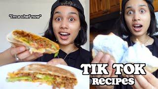 i tried to recreate TIK TOK FOOD RECIPES   clickfortaz