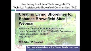 Creating Living Shorelines to Enhance Brownfield Sites