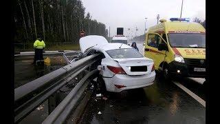 ВИДЕО АВАРИЙ ДТП АВТОМОБИЛЕЙ И МОТО СНЯТЫХ НА ВИДЕОРЕГИСТРАТОР Car Crash Channel №13