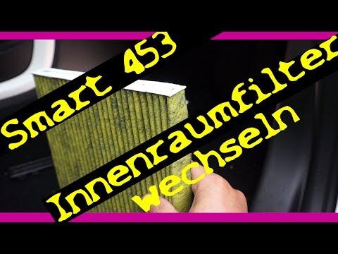 Smart 453 | Innenraumfilter wechseln (FreciousPlus) | Scheibenwischer Servicestellung ?