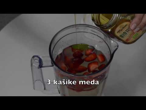 Limunada sa jagodama- VIDEO RECEPT