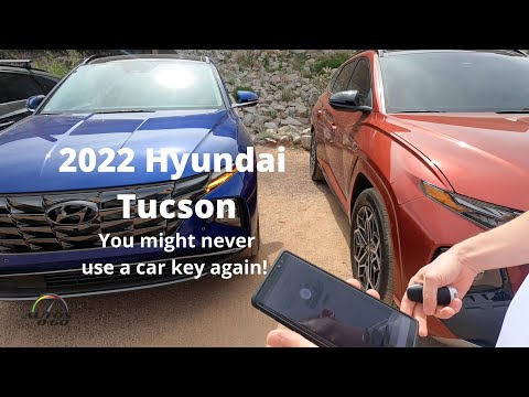 2022 Hyundai Tucson amazing technology