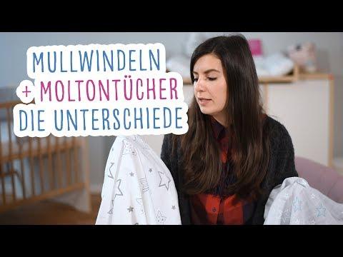 Mullwindeln und Moltontücher – Worin unterscheiden sie sich? | Babyartikel.de