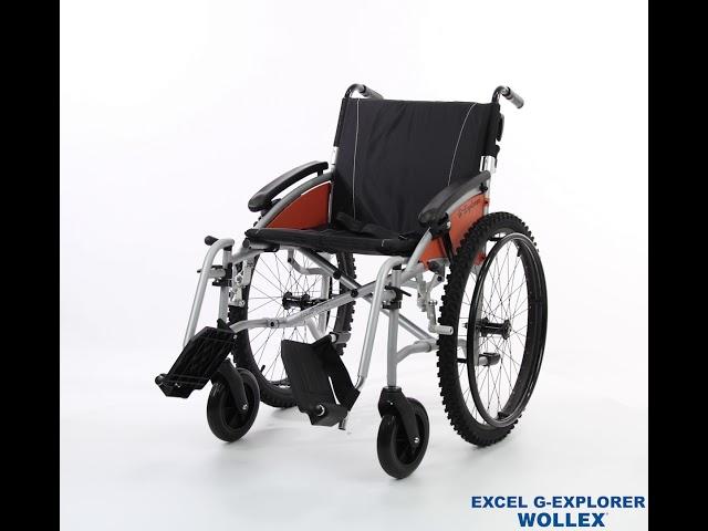 Excel G-Explorer Off Road Wheelchair Video