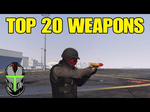 best weapons to use in gta online