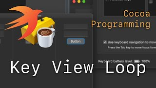 Cocoa Programming L79 - Key View Loop