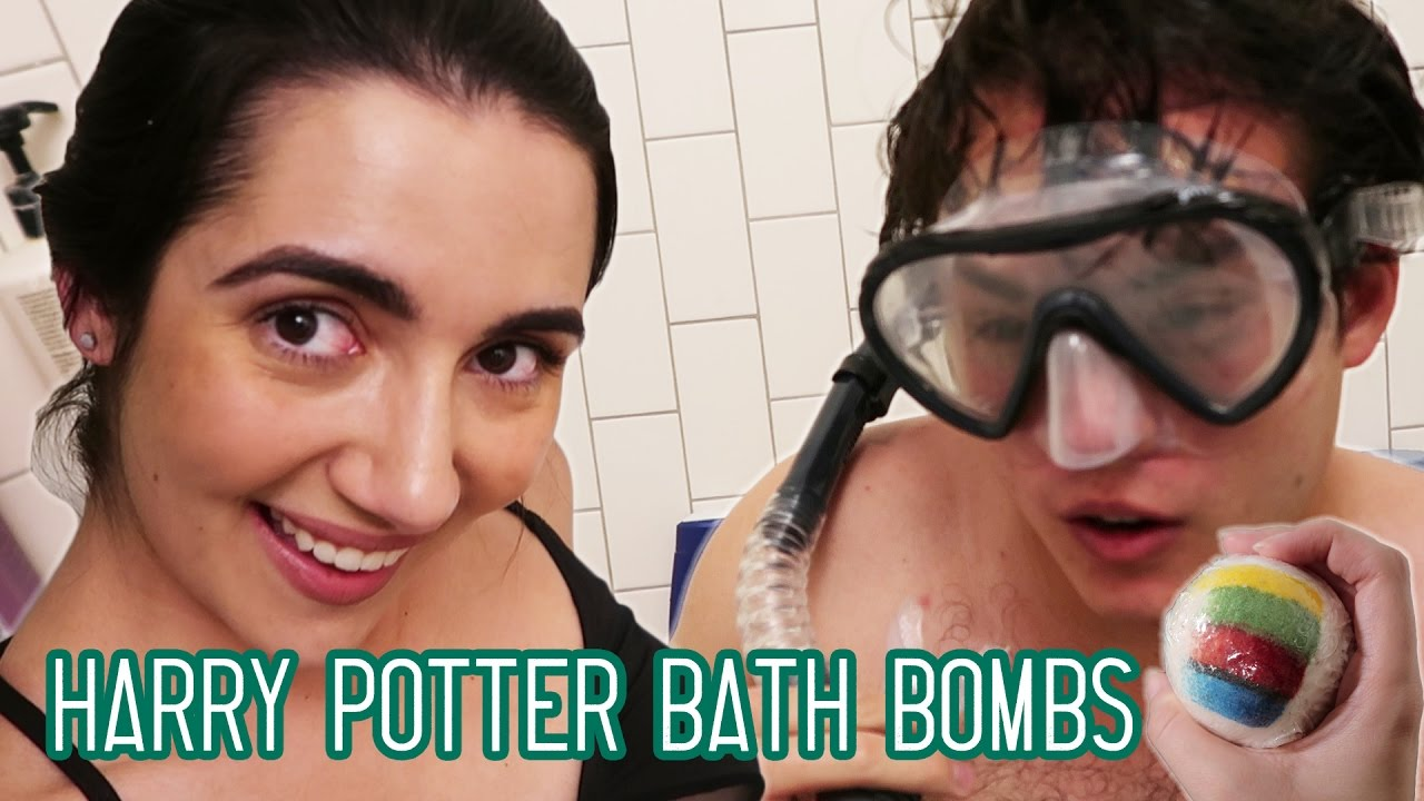 Trying Harry Potter Sorting Hat Bath Bombs • Saf & Tyler thumbnail