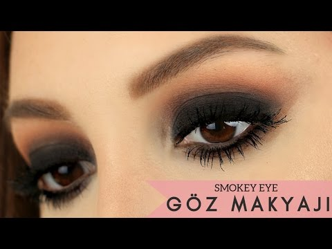 Buğulu Göz Makyajı Nasıl Yapılır? ✖ Profesyonel Görünen Göz Makyajı