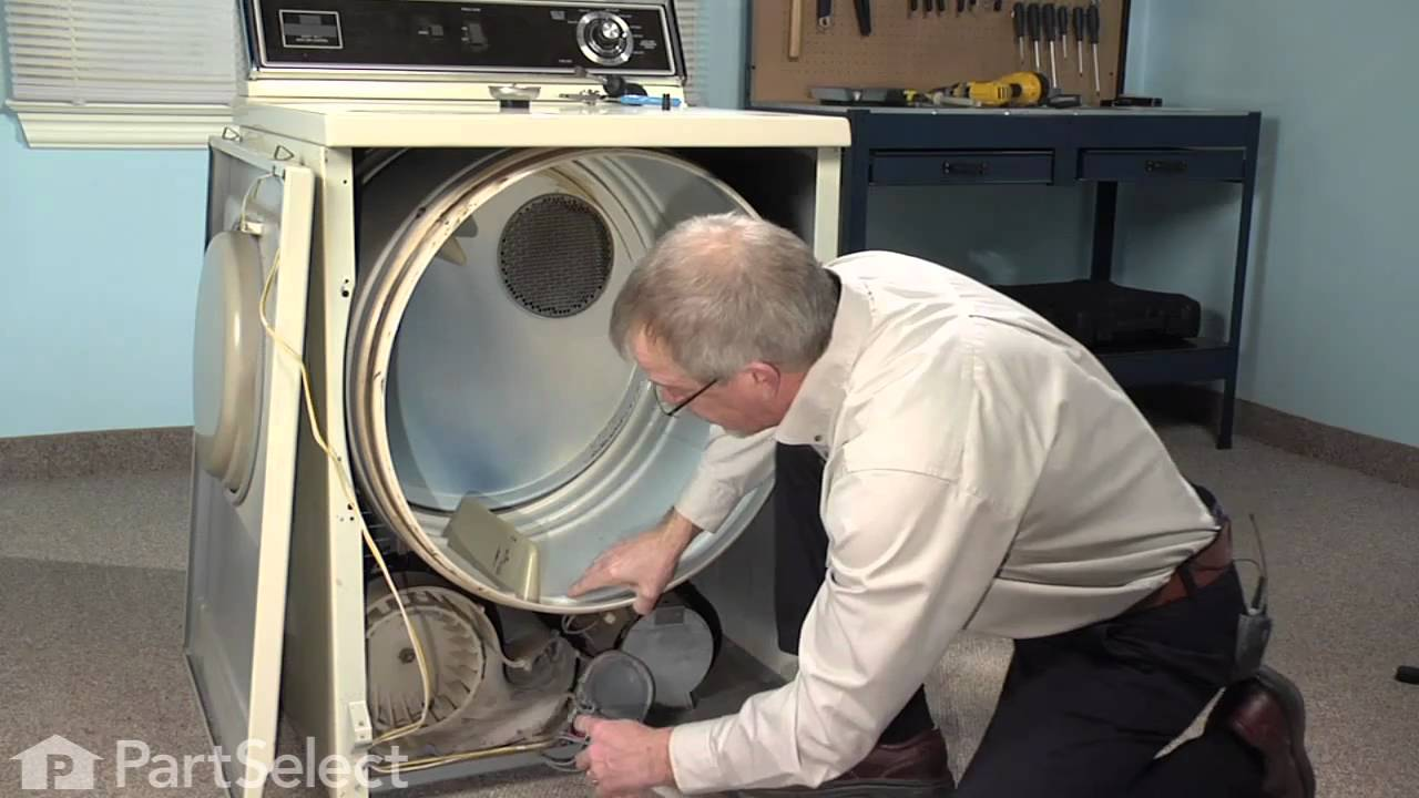 Replacing your Maytag Dryer Retaining Ring