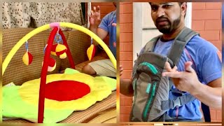Amazing Baby Gym Mat and Baby Carrier