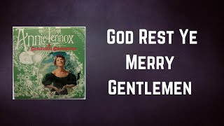 Annie Lennox - God Rest Ye Merry Gentlemen (Lyrics)