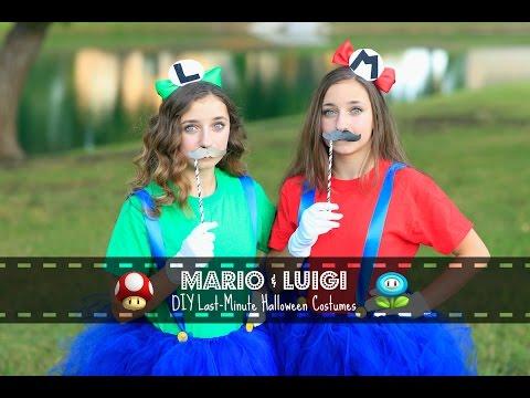 Mario & Luigi | Last-Minute DIY Halloween Costumes