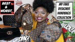 My COLLECTION Of FAKE Designer Handbags Lol 💰BEST & WORST !!!