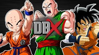 Krillin VS Tien VS Yamcha   DBX