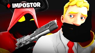Trolling With AMONG US in Fortnite.. (RAGE)