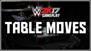 WWE 2K17: All New Table Finishers, Tag Team Finishers and Comebacks (Videos)