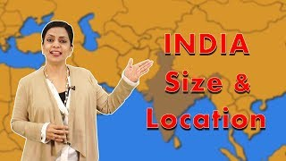 Location and Extent of India