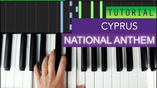 National Anthem Of Cyprus Piano Tutorial