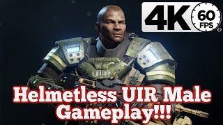 Gears of War 4 : Helmetless UIR Male Gameplay!!!